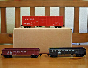 Ho Train Vintage Athearn Canadian Pacific CP / Canadian National Lot - RTR