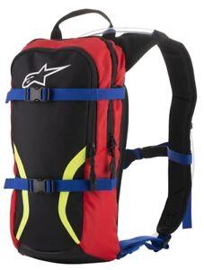 ALPINESTARS IGUANA HYDRATION BACK PACK BLACK RED YELLOW FLUO CAMEL BAG ENDURO MX