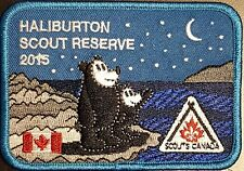 1980s Totem Scouts Canada Haliburton Scout Reserve crest badge patch
