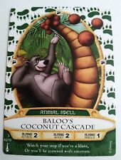 Disney SOTMK Sorcerers of the Magic Kingdom Baloo's Coconut Cascade Card #42/70