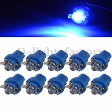 10X T5 Gauge LED Car Speedo Dashboard Dash  Wedge Side Light Bulb Lamp Blue 12V