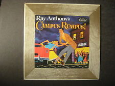 """Vintage RAY ANTHONY'S CAMPUS RUMPUS 10"""" Album LP Record H362 w/Picture Sleeve"""