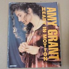 songbook AMY GRANT heart in motion, medium voice range, 1991