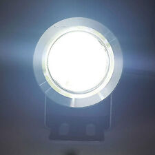 2 SUPERPOTENTI LUCI DIURNE FENDINEBBIA COB DRL LED COOL WHITE 6000K 4W 12-24v A+