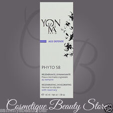 Yonka Phyto 58 PG PNG Cream Normal/Oily Skin 1.4oz Brand New