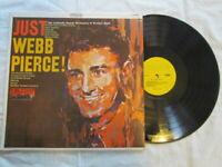 Just Webb Pierce,Vinyl lp,Hilltop