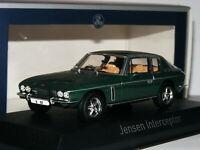 Norev 270250 1976 Jensen Interceptor Coupe Dark Green 1/43
