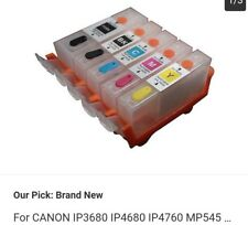 for Canon Mp545 Ip4760 Ip4680 Ip3680 Refillable Ink Cartridge Pgi-820 Cli-821