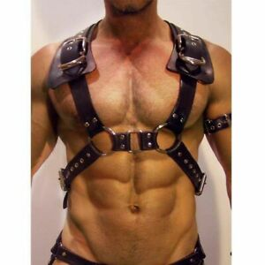 Male chest Harness Costume Restraint men Chest Straps Cosplay clubwear roleplay