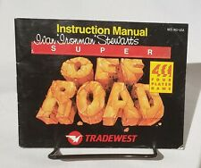 Super Off Road Instructions Manual Only Nintendo NES