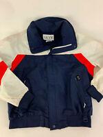 Vintage SKYR red white blue GORETEX shell ski jacket Men's M