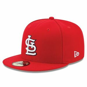 MLB St. Louis Cardinals New Era Authentic On Field 59FIFTY Fitted Cap Hat