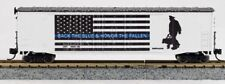 """N FIRST RESPONDERS """"BACK THE BLUE"""" 50FT BOXCAR 0001-006064"""
