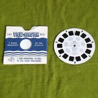 1953 ViewMaster Reel Inauguration of President Dwight D. Eisenhower & Sleeve