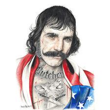 Wayne Maguire Tattooed Bill the Butcher Inked Ikon Canvas Print