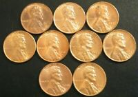 Lincoln Wheat Penny Cent Choice Uncirculated Set 1955 PDS 1956 PD 57 PD 1958 PD