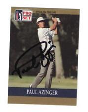 Paul Azinger Signed Autographed 1990 Pro Set PGA Tour Golf Card