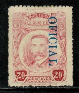 Mexico #O140 1921 MH