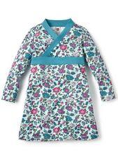 NWT Tea Collection Papel Pintado Wrap Neck Dress Sz: 6 Light Aqua Blue