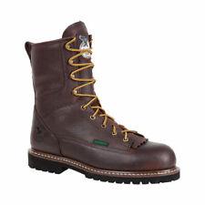 "Georgia Boot Men's   G101 8"" Low Heel Logger"