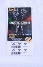 UFC 196 VIP Ticket Stub Conor McGregor Nate Diaz Original, Rare, The Notorious