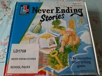 *Retro Never Ending Stories Board Game Vintage (Living & Learning) 100% complete