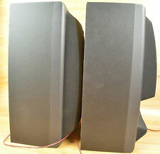 Rca Audio Bookcase Wooden Speakers 2 Pair Model Rp-9515 Black