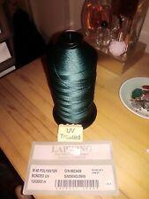 Heavy duty polyester thread 3000m DARK GREEN
