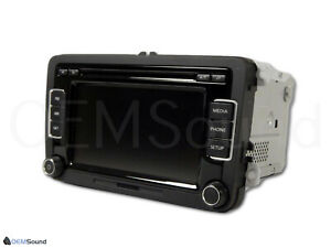 VW RCD-510 Touchscreen HD Radio Media Bluetooth SAT CD Player XM 1K0035180AF OEM