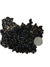 Pp Plastic Pellets Polypropylene Resin Material Injection Molding black 10 Lbs