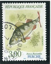 STAMP / TIMBRE FRANCE OBLITERE N° 2664 POISSON FAUNE PERCHE