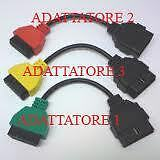 ADATTATORI PER DIAGNOSI AVANZATA TIPO1-2-3- PER  FIAT/ALFA/LANCIA
