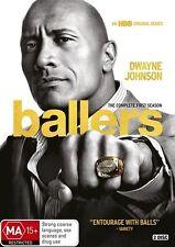 BALLERS SEASON 1 DVD, NEW & SEALED, 2017 RELEASE, REGION 4.