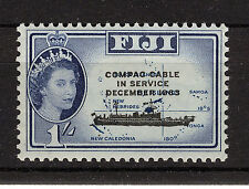 FIJI 1963 COMPAC CABLE BLOCK OF 4 MNH