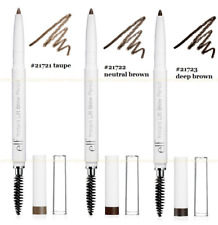 ELF Brow Pencil Neutral Brown / Deep Brown / Taupe - Roll Up with Contour Brush