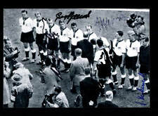 Deutschland  CSSR WM 1958 Foto 6x Original Signiert+A 150833