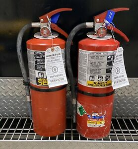 FIRE EXTINGUISHER 10lb ABC  (SCRATCH & DENT) SET OF 2
