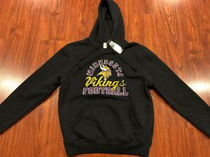 Majestic Men's Minnesota Vikings Kick Return Hoodie Sweatshirt Small S NFL