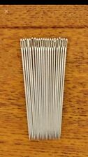 10pcs Silver Tone Steel Hand Long Sewing Needles 6.6cm Long agulhas pins set