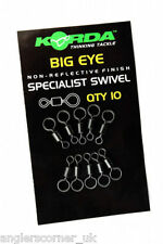 KORDA BIG EYE SWIVELS / CARP FISHING