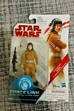 Star Wars The Last Jedi 3.75-Inch Figure Force Link Resistance Tech Rose. New!