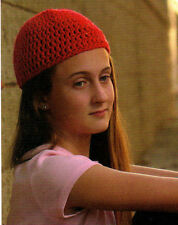 Chic Biker's Beret/On the Cuff/Hats/Crochet Patterns Instructions Only