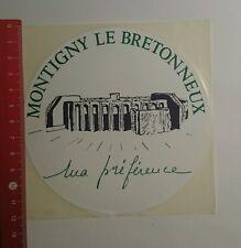 Autocollant/sticker: Montigny le Bretonneux (160916136)