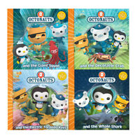 Octonauts Collection 4 Books Set Giant Squid Whale Shark Decorator Crab BrandNew