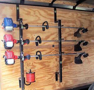 3Place Weedeater Trimmer Trailer Racks ENCLOSED Free Trimmer Line Holder PK5-PK6