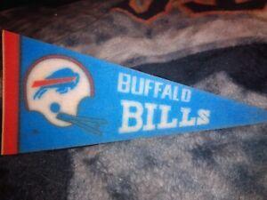 NFL Buffalo Bills 1970s Vintage Mini Pennant
