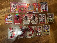 2020 Prizm Mosaic Falcons Team Lot Jones /299 Ryan Vick Terrell /299 Rookies