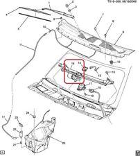 SEAL KIT - Windshield Wiper Motor Genuine GM 10376669  02-03 Trailblazer, Envoy