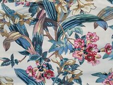 7 Yards Brunschwig & Fils Daffadil Vine Floral Flower Fabric Drapery Upholstery