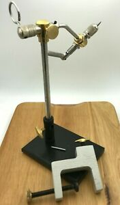 1 Set 360-degree Rotary Fly Tying Vise With Pedestal Base---Fly Fishing Tool